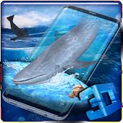 3D Blue Whale / Shark Simulator Theme APK