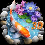 3D Koi Fish Theme & Lively 3D Ripple Effect APK