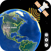 Live Earth Map 2018 : Satellite View, GPS Tracker APK