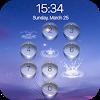 lock screen - water droplet APK