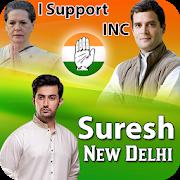Indian National Congress Flex and Frame Maker 2018