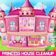 Princess House Cleanup For Girls: Keep Home Clean! APK