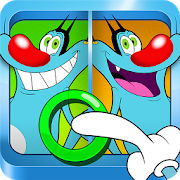 Oggy and the Cockroaches - Spot The Differences APK