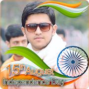 India Flag Face Photo Maker & 15th August DP APK