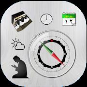 Qibla finder:Prayer times & Islamic Calendar 2018 APK