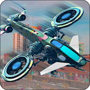 City Drone 3D Attack - Pilot Flying Simulator Game APK