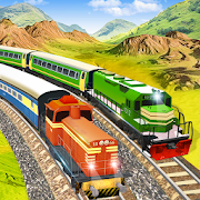 Modern Pak vs Indian Train Race: Azadi Train Game APK