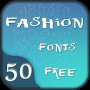 50 Fashion Fonts Free APK