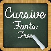 Cursive Fonts Free APK