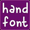 Hand fonts for FlipFont APK
