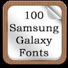 100 SamsungGalaxy Fonts APK