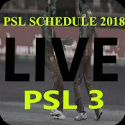 PSL Schedule 2018 APK