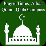 Ramadan 2018 - Prayer Times - Quran - Qibla APK