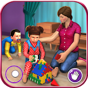 Virtual Mother New Baby Twins Family Simulator APK