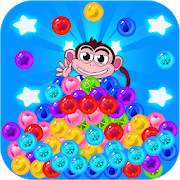 New Monkey Bubble Shooter APK