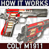 How it Works: Colt M1911 pistol APK