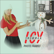 Icy Snowman Photo Frames Edit HD Selfies & Picture APK