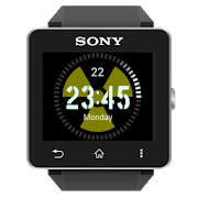 Radioactive Clock widgets SW2 APK