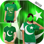 Pakistan Flag Shirt 14 August Photo Editor APK