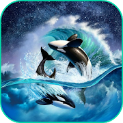 Whale Lock Screen Live WP 1.0 Android Latest Version Download