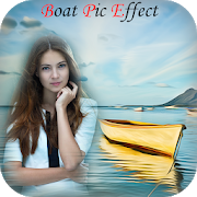 Boat Pic Effect - sea boat stylish photo frame APK