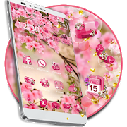 Pink Summer Flower Theme APK