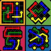 Connect The Dots - Super Shapes : Color Pipe Lines APK