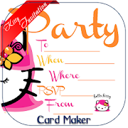 Kitty Party Invite Card Maker APK