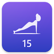 Plank workout - lose weight in 15 minutes a day! APK