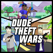 Dude Theft Wars: Open World Sandbox Simulator BETA APK