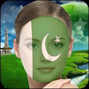 Pakistan Flag Profile Picture Frame : Face Editor APK