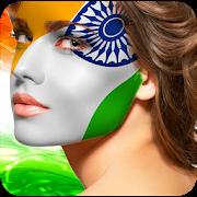 Indian Face Flag Photo APK