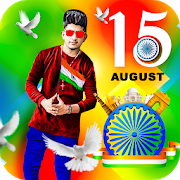 15 August Photo Editor Frame