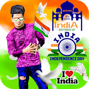 Independence Day Photo Frame Editor
