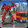 Fire Truck Real Robot Transformation: Robot Wars APK