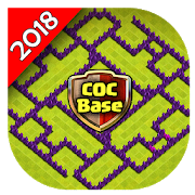 New CoC Base Maps for Layout 2018 APK