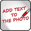 Add text to the photo APK