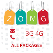Zong Sim 3g/4g,Wingle,Sms and Call Packages APK