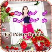 Write Eid Poetry On your picture APK