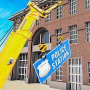 Virtual Construction Machines 2018: Police Station APK
