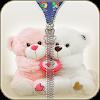 Teddy Bear Zipper Lock APK