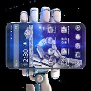 Space Blue Technology Theme APK