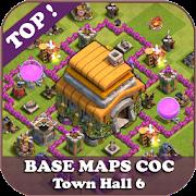 Top Base Maps COC TH 6 APK