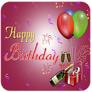 Birthday GIF , Greeting Card , Image , Photo Frame APK