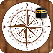 Qibla Direction Finder Locator Compass Azan Times APK