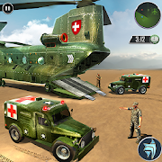US Army Transporter Rescue Ambulance Driving Games APK