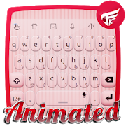 Pink wedding Keyboard Animated APK