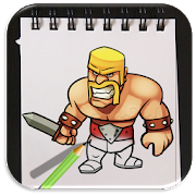 How to Draw Clash of Clans Advanced APK
