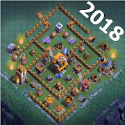 layout for clash of clans APK