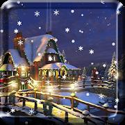 Snow Night Live Wallpaper HD APK